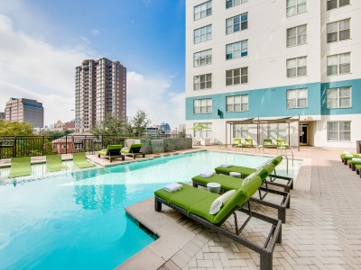 McKinney Uptown Third-Floor Resort-Style Pool